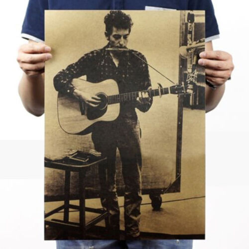 Vintage Music Rock Print Poster Decorative Painting Wall Decor Bar Cafe