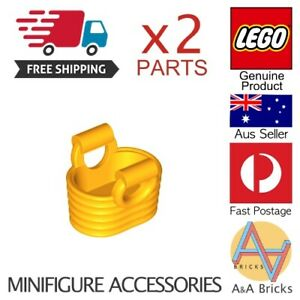 Genuine-LEGO-Minifigure-Basket-Yellow-Minifigure-Accessory-NEW