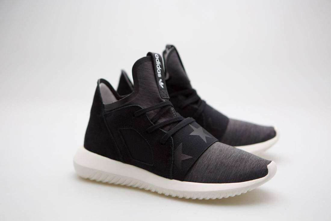 Adidas Women Tubular Defiant S80291 black core black off white S80291 Defiant d058a2