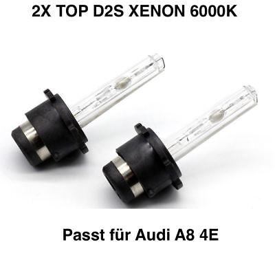 2x D2S 6000K XENON Brenner Birnen Audi A8 D2 4D D3 4E D4 4H Q3 Q5 8R Q7 4L TT