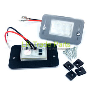 LAND-ROVER-DISCOVERY-1-LED-LICENSE-NUMBER-PLATE-LIGHTS-X2-UPGRADE-1989-1998