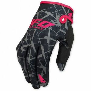 guanti-cross-enduro-Ufo-Element-colore-nero-fuxia-gloves