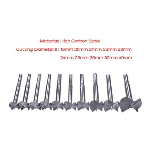 New 19-40mm Woodwork Boring Wood Hole Saw Cutter Drill Bit Hole Opener