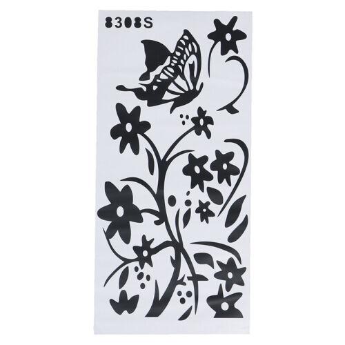 Refrigerator Sticker Butterfly Pattern Wall Stickers Home Decoration Kitchen W0