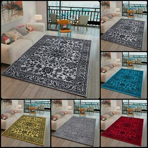 Luxury Floral Isable Rugs Living Room Mats Hallway Runner Modern Bedroom Carpets