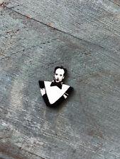 Klaus Nomi goth new wave synthpop bowie music lapel pin button 80s gothic devil
