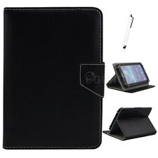 "Universal PU Leather Case Cover For 7"" 7.9"" 8"" 9.7"" 10"" 10.1"" Tablet Solid-Color"