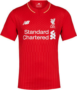 Balance Liverpool Fc Season   Home Soccer Jersey Brand New Red