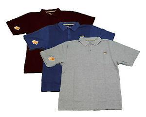 Skechers-Work-Camisa-Polo-para-Hombre-Collar-De-Bolsillo-industrial-durable-T-Shirt-SW-14510