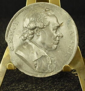 Medal-sandstone-19TH-Charles-Simon-Favart-theatre-and-composers-Medal