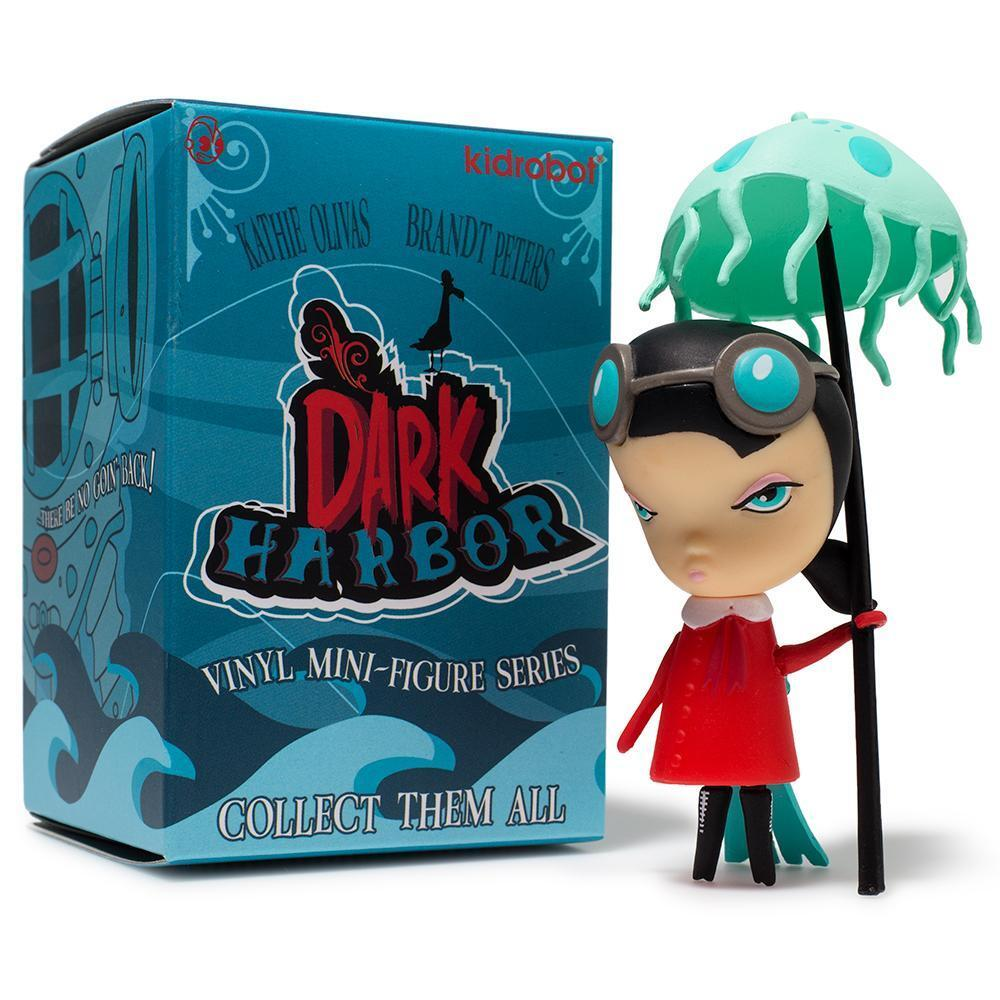 Kidrobot Kathie Olivas Dark Harbor series 3-inch mini figure 4x Blind Box