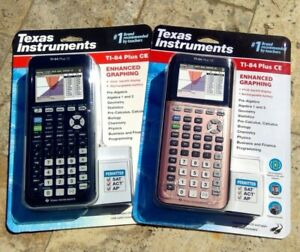 Details about 🌟🎈 Texas Instruments TI-84 Plus CE Enhanced Graphing Black  or Rose Gold 2019🌟