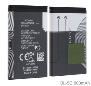 3-7V-800mAh-BL-5C-Rechargeable-Battery-For-Nokia-Mobile-Phone-BL5C-BL-5C