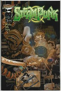 Steampunk #1 Chromium Edition - NM+ or Better!!
