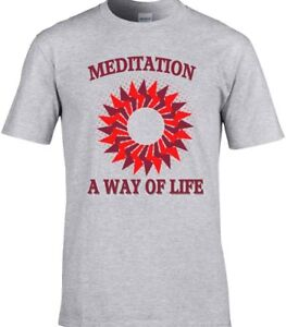 Yoga-camiseta-de-entrenamiento-Buda-meditacion-Chakra-ZEN-espiritual