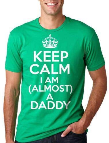 Almost a Daddy Future Father Tee Shirt Baby Announcement Baby Shower Tee Gift