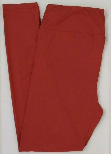 Details about  /LuLaRoe Tall /& Curvy Leggings Beautiful Solid Red NWT TC Salsa