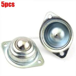 5Pcs-Caster-Stahlkugel-Runde-Auto-Lenkung-Universal-Rad-Roboter-Modellbau-lf