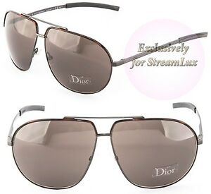 1f613cc515 Image is loading CHRISTIAN-DIOR-HOMME-Titanium-Aviator-Sunglasses-DIOR -0164S-