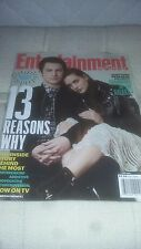 Entertainment Weekly-13 Reasons Why-Katherine Langford-Dylan Minnette-NO LABEL