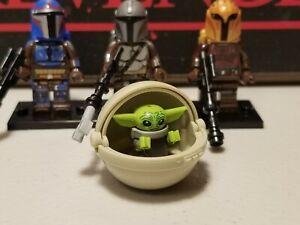 MANDALORIAN jet lot of 3 /& Baby Yoda #4 set minifigures clone troopers Star Wars