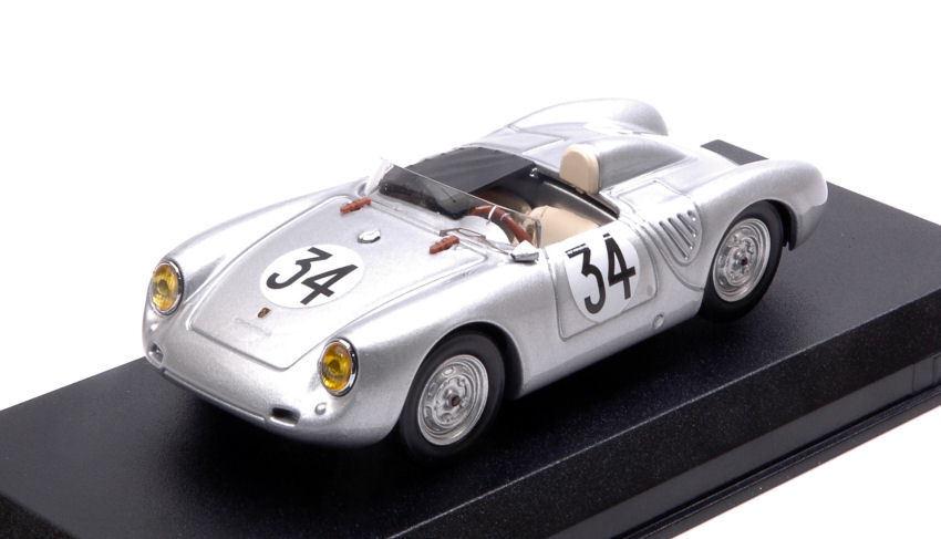 Porsche 550 Rs  34 10th Lm 1958    FRANC  (J.DEWES)-J.KERGUEN 1 43 Model 7b65ad