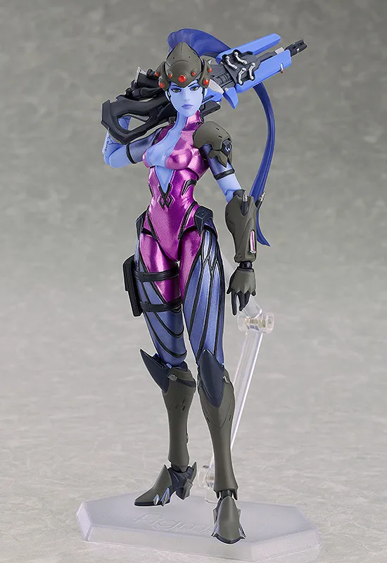 Authentic  387 figma Overwatch Widowmaker Action Figure Max Factory (Good Smile)