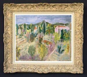 Raya-safir-1909-2004-fauve-landscape-painting-of-provence-1950-209