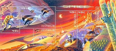 Australia-Exploration of Mars-Space 2049 ms mnh
