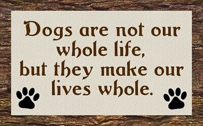 Canine Lover OCD Puppy Sign Plaque Gift Dog Lover Present Family Friend