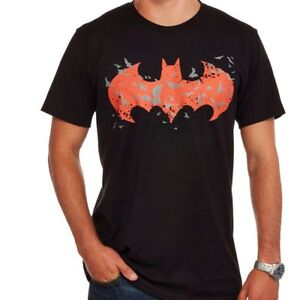 16eb8e79e DC Comics Batman glow in the dark black logo graphic tee NWT UPICK ...