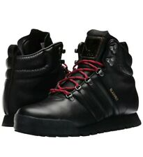purchase cheap ba729 f206e Adidas Originals Jake Blauvelt Men s 7 Black Leather Boots G56462 Skater NWT