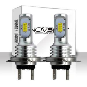 NOVSIGHT-H7-160W-LED-Nebel-Scheinwerfer-Lampen-Leucht-Birnen-Fog-Ligcht-DRL-Weiss