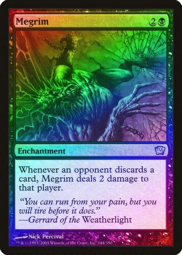 Megrim FOIL 9th Edition NM Black Uncommon MAGIC THE GATHERING CARD ABUGames