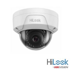 Hilook Hikvision Cámara IP Poe 2 4 Mp Vandalismo 30MIR 2.8mm IPC-D121H D140H