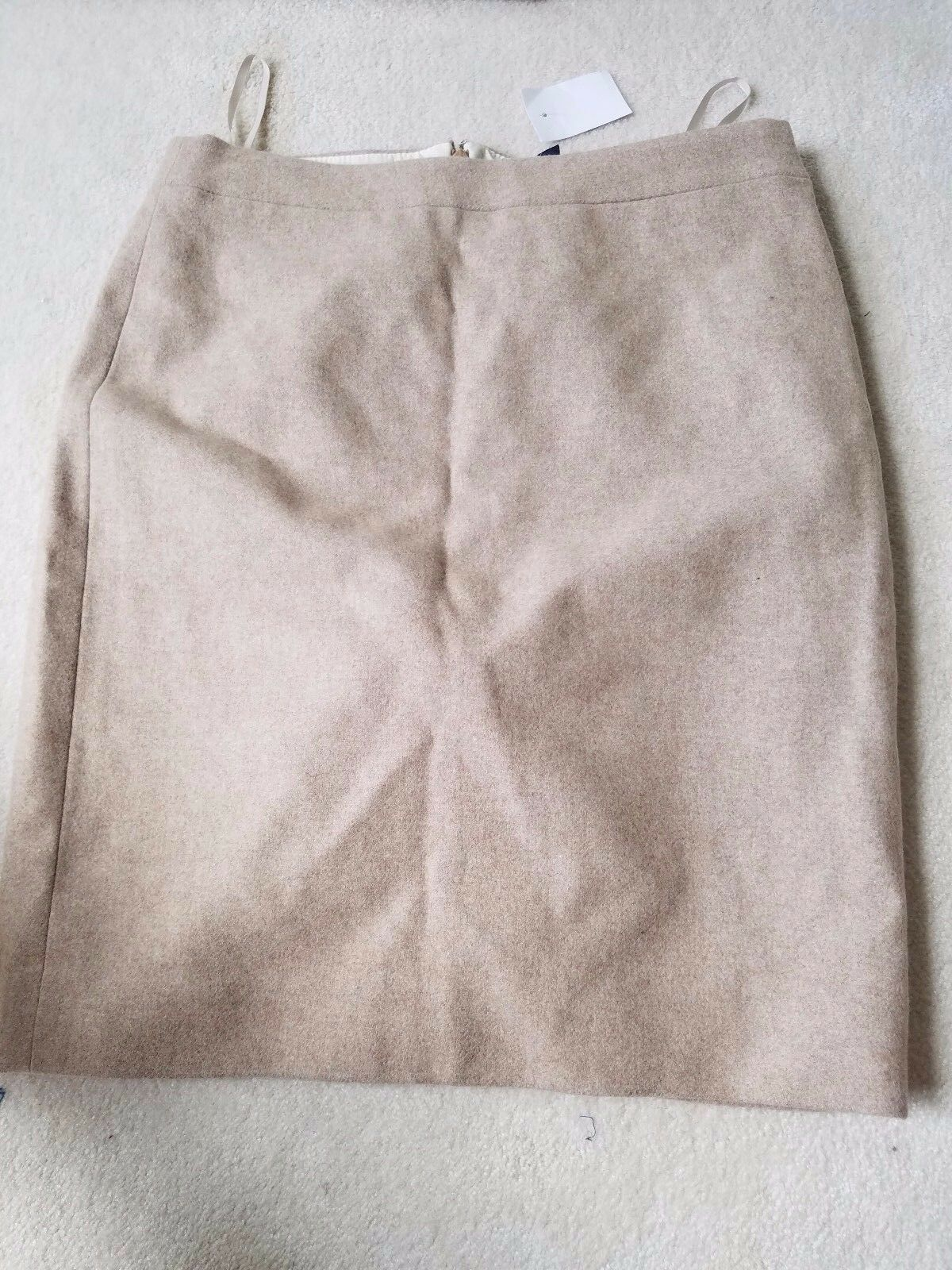 J.Crew Pencil skirt in double-serge wool Size 6