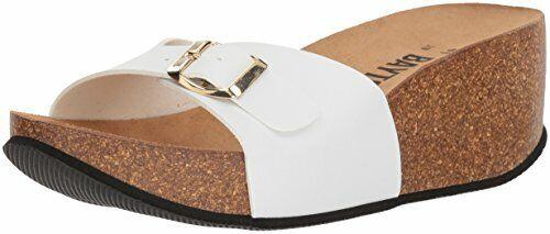 41 Medium EU White Bayton Women/'s Luna Sandal 10 US