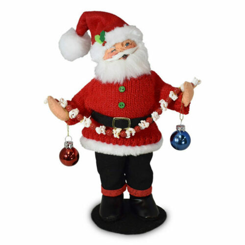 Annalee Dolls 2020 Christmas 9in Christmas Whimsy Santa Plush New with Tags