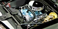 1967 Pontiac Firebird w/ 400 Engine & Vintage Wheels  High-End Metal Body Model