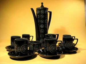 034-TOTEM-034-Susan-Williams-Ellis-UK-Kaffee-Service-60er-Jahre-dunkelgruen-MCM-60s