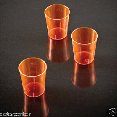 2000 Bicchieri Jamaica Cl.2 In Plastica Polistirene Arancione Per Feste Party