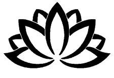 Lotus Blume Yoga Indien Wandtattoo Wallpaper Wand Schmuck 56 x 90 cm Wandbild
