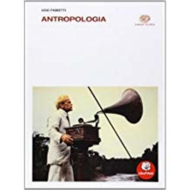 Antropologia, Fabietti, Einaudi scuola, codice:9788828610465