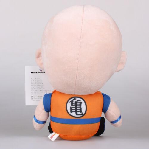 "Official 12/"" 30Cm Dragon Ball Z Krillin Kuririn Plush Toys Soft Stuffed Doll"