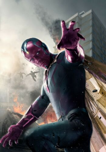 Paul Bettany Avengers 2 Age of Ultron Movie Poster 24x36 Vision