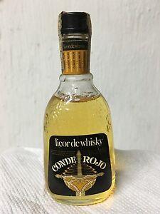 Miniature Miniature Licor De Whisky CONDE ROJO 5cl 30% Timbro Rep. Argentina - Italia - Miniature Miniature Licor De Whisky CONDE ROJO 5cl 30% Timbro Rep. Argentina - Italia