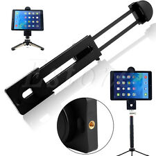 "1/4"" Thread Adapter Universal Tripod Mount Holder Bracket For 3~13"" Tablet iPad"