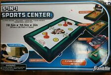 Franklin Sports 5 In 1 Sports Center Table Top 18.5 x 10.5 x 3-Inch Multicolor