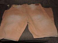 Men's Ecko Unltd Straight Fit Stimpson Wash Brown Denim Jeans W 42 L 32 $72