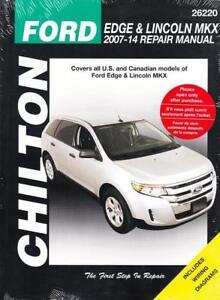 2012 ford edge service manual